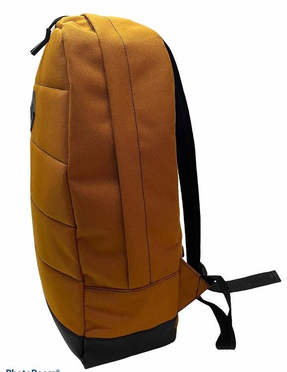 Городской рюкзак оранжевый 2