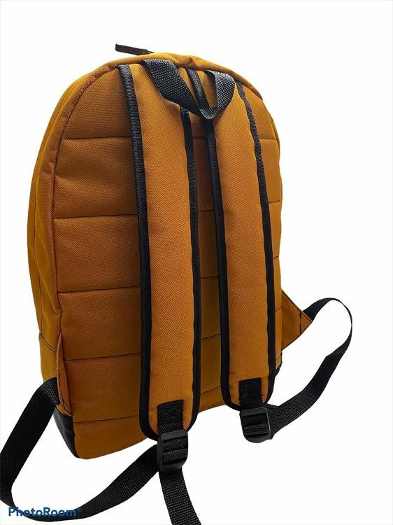 Городской рюкзак оранжевый 3